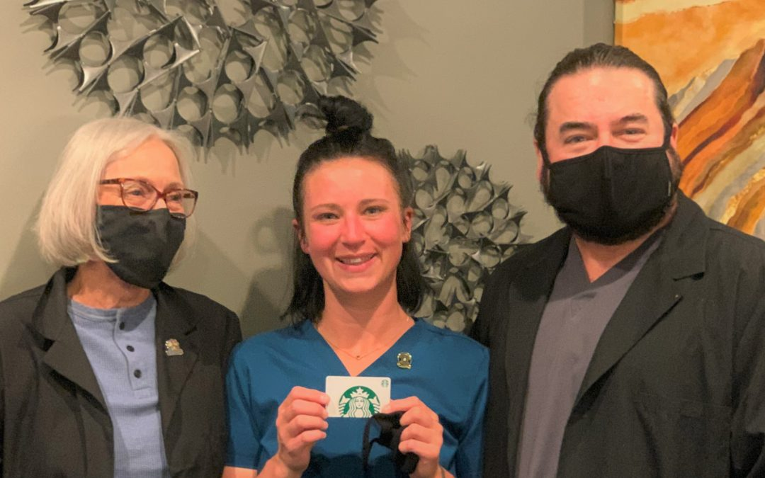 Hamm Named as Outstanding Employee of the Month for March 2021